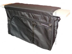 x-morph seatbag black- bag under seats of inflatable boats